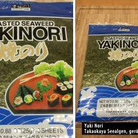 Yakinori Seealgen geröstet