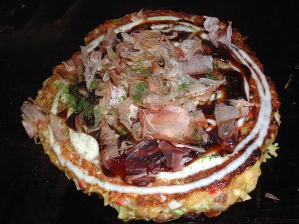 Okonomiyaki nach Kansai Art