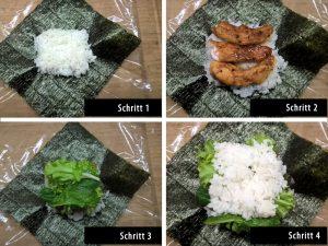 Onigirazu Chicken Terayaki