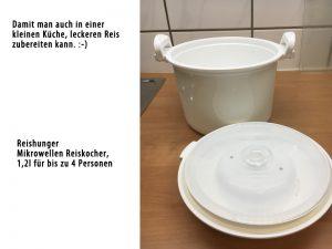 Reishunger - Mikrowellen-Reiskocher